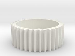 Zocus - Servo Gear V1.0 in White Natural Versatile Plastic