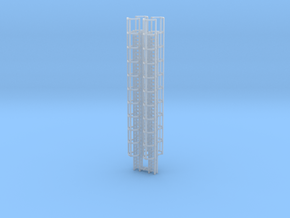 40ft Cage Ladder (x4) 1/160 in Smooth Fine Detail Plastic