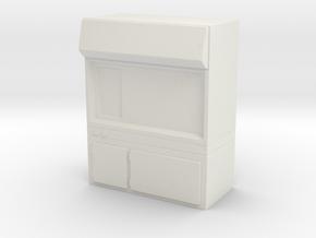 Fume Hood 1/35 in White Natural Versatile Plastic