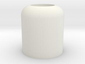 Big Nub in White Natural Versatile Plastic