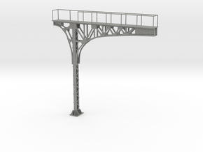 HO Scale ATSF Style cantilever 85% in Gray PA12