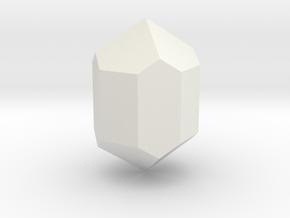 Zircon 3 in White Natural Versatile Plastic