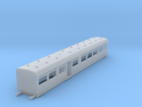 o-148fs-lswr-d27-pushpull-trailer-coach-1 in Smooth Fine Detail Plastic