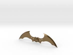 Arkham Asylum Batarang in Natural Bronze