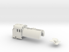 On30 2-6-6-2 Split-Saddle Tank Conversion Kit in White Natural Versatile Plastic