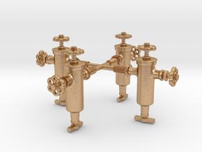 16KS001 Winns No.1 Roscoe Displacement Lubricator in Natural Bronze