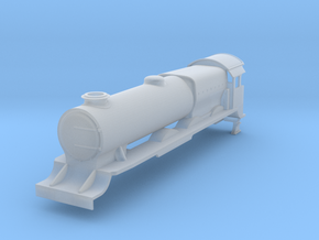 Lord Nelson Body N Gauge in Smooth Fine Detail Plastic