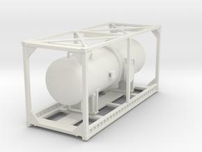 Container Tank 2  in White Natural Versatile Plastic: 1:75