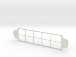 Ten Frame Dough Stamp in White Natural Versatile Plastic