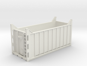container open top in White Natural Versatile Plastic: 1:75