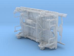 Wagon écurie Midi Gs 61 à 135 - Châssis in Smooth Fine Detail Plastic