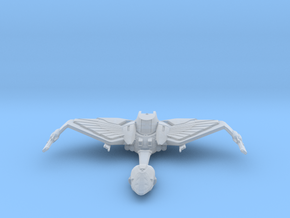 Klingon Norgh Class Bird of Prey Flight Mode V2 in Smooth Fine Detail Plastic