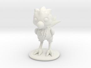 Desk Buddy Chocobo in White Natural Versatile Plastic: Small