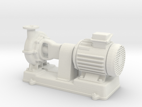 Motor Pump 1/35 in White Natural Versatile Plastic
