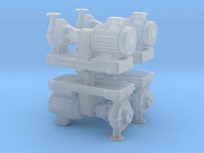 Motor Pump (x4) 1/144 in Smooth Fine Detail Plastic