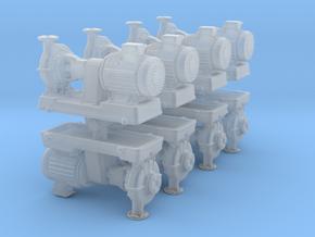 Motor Pump (x8) 1/200 in Smooth Fine Detail Plastic