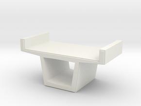 Concrete Viaduct 1/87 in White Natural Versatile Plastic