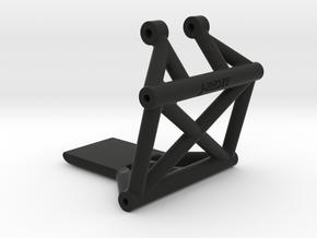 TLR 22 Wheelie Bar Mount for STRC Wheelie Bar in Black Natural Versatile Plastic