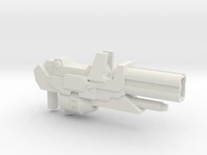 Transformers WFC Siege Path Blaster in White Natural Versatile Plastic