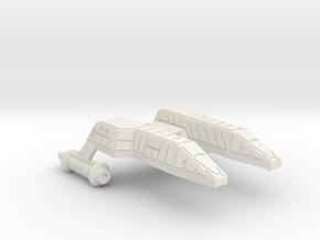 3125 Scale Lyran Leopard-M Minesweeper (MS) CVN in White Natural Versatile Plastic