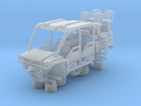 John Deere Gator ATV 4 Door 1-87 HO Scale in Smooth Fine Detail Plastic