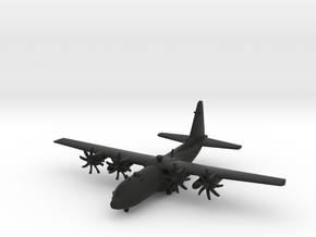 Lockheed Martin C-130J Super Hercules in Black Natural Versatile Plastic