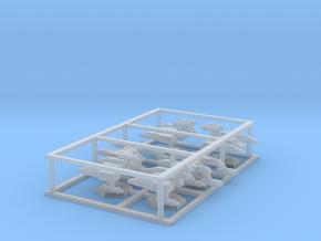 7000 Scale Lyran Fleet Cruisers Collection CVN in Smooth Fine Detail Plastic