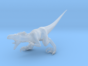 Turok Raptor dinosaur miniature fantasy games rpg in Smooth Fine Detail Plastic