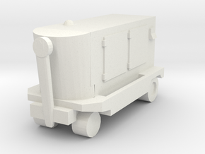 TLD Ground Power Unit 1/120 in White Natural Versatile Plastic