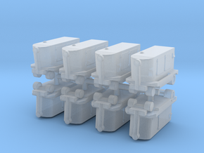 TLD Ground Power Unit (x8) 1/350 in Smooth Fine Detail Plastic