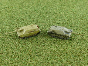 Jagdpanzer IV/70 (E) 1/285 6mm in Smooth Fine Detail Plastic