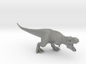 Turok T-Rex Mama Scarface dinosaur miniature model in Gray PA12