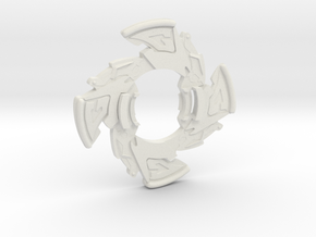 Dragoon GT Attack Ring in White Natural Versatile Plastic