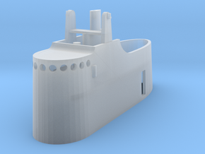 1/240 1939 US Submarine Conning Tower in Smoothest Fine Detail Plastic