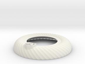 Halo Ring diffuser in White Premium Versatile Plastic