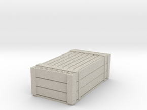 N Gauge H type container with lid in Natural Sandstone