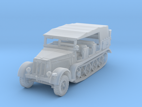 Sdkfz 7 mid (covered) 1/200 in Smooth Fine Detail Plastic