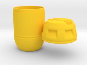 1-9 Shark Hunter Barrel in Yellow Processed Versatile Plastic