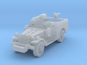 M3A1 Scoutcar late (with MG) 1/72 in Smooth Fine Detail Plastic