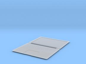 1:12 Macbook in Smooth Fine Detail Plastic