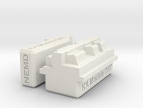 KA Models Bench Tool in White Natural Versatile Plastic