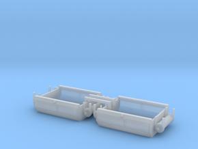 GE U18B N 1/160 Fuel Tank 2 Pack in Smooth Fine Detail Plastic