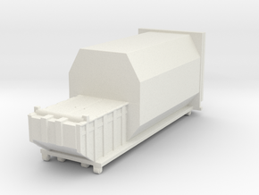 Waste Compactor 1/100 in White Natural Versatile Plastic
