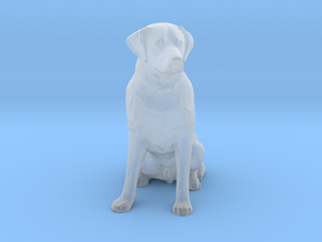 S Scale Labrador in Smooth Fine Detail Plastic