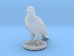 O Scale Eagle & Rabbit in Smooth Fine Detail Plastic