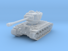 M26 Pershing (no skirts) 1/160 in Smooth Fine Detail Plastic