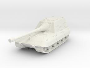Jagpanzer E-100 1/144 in White Natural Versatile Plastic