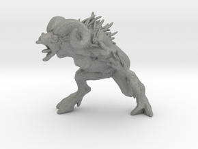 Sheepsquatch 42mm miniature fantasy games rpg DnD in Gray PA12