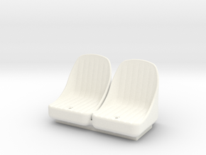 FA20006 Sand Rail Seat in White Strong & Flexible Polished