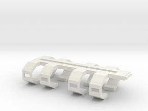 Cardassian Monac Shipyard Extension Arm in White Natural Versatile Plastic